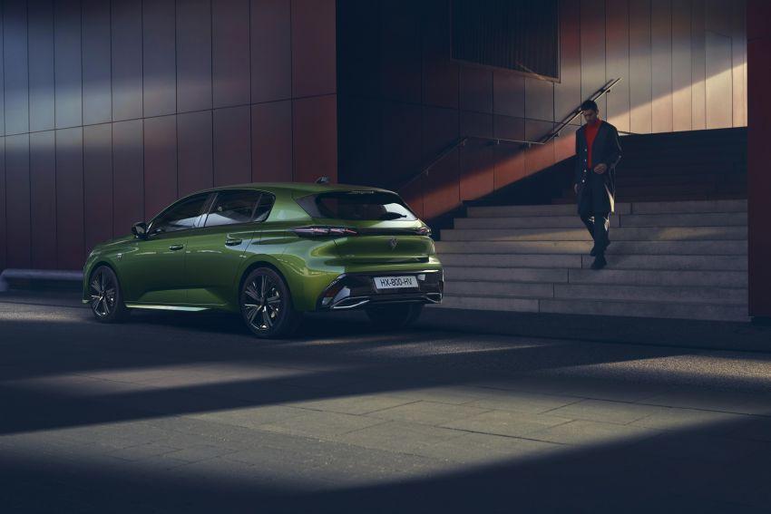 2021 Peugeot 308 revealed – revised C-segment hatch gets new lion badge, bold design and two PHEVs Image #1265334