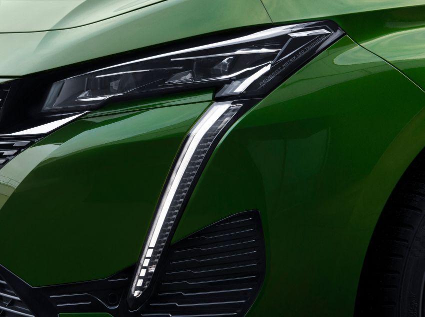 2021 Peugeot 308 revealed – revised C-segment hatch gets new lion badge, bold design and two PHEVs Image #1265421