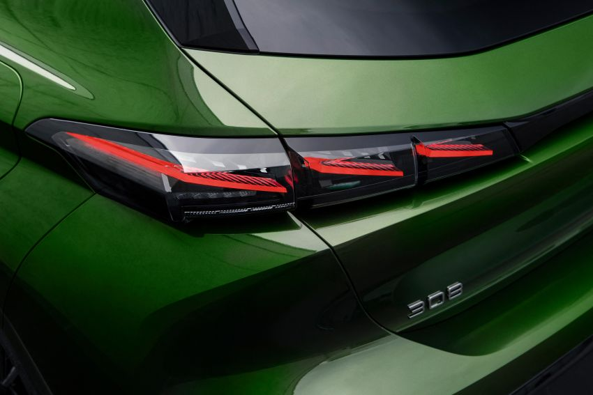 2021 Peugeot 308 revealed – revised C-segment hatch gets new lion badge, bold design and two PHEVs Image #1265431