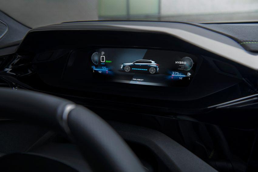 2021 Peugeot 308 revealed – revised C-segment hatch gets new lion badge, bold design and two PHEVs Image #1265433