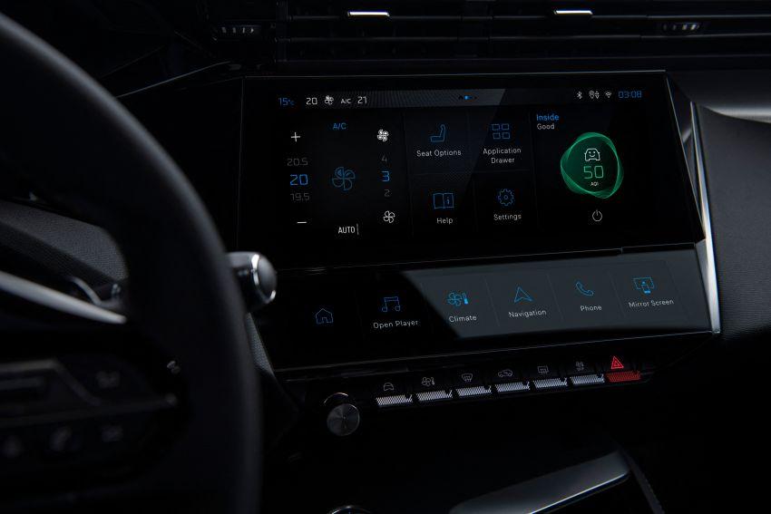 2021 Peugeot 308 revealed – revised C-segment hatch gets new lion badge, bold design and two PHEVs Image #1265435