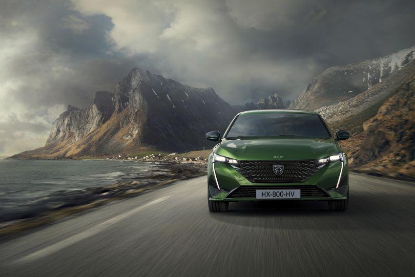 2021 Peugeot 308 revealed – revised C-segment hatch gets new lion badge, bold design and two PHEVs Image #1265346