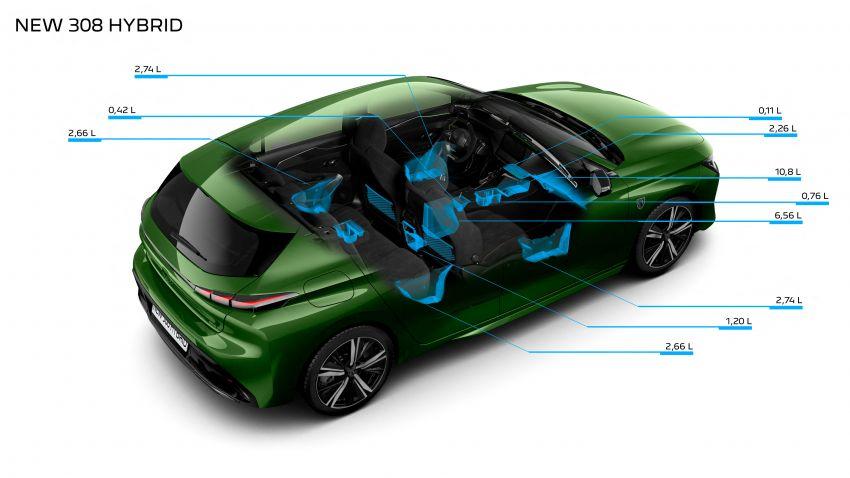 2021 Peugeot 308 revealed – revised C-segment hatch gets new lion badge, bold design and two PHEVs Image #1265460