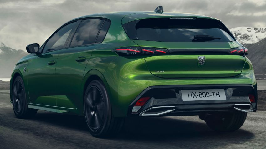 2021 Peugeot 308 revealed – revised C-segment hatch gets new lion badge, bold design and two PHEVs Image #1265353