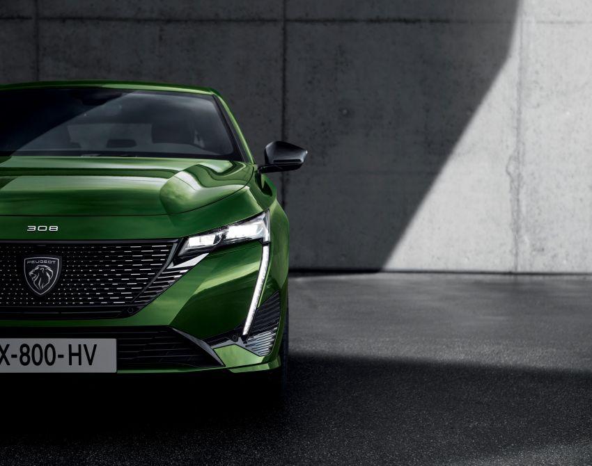 2021 Peugeot 308 revealed – revised C-segment hatch gets new lion badge, bold design and two PHEVs Image #1265372