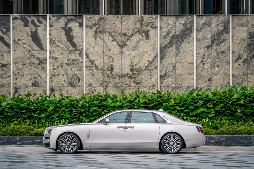 2021 Rolls-Royce Ghost launched in Malaysia – two wheelbase options; from RM1.45-RM1.65 million Image #1270834