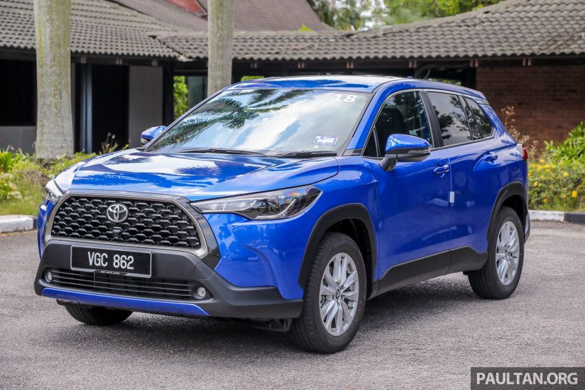 2021 Toyota Corolla Cross launched in Malaysia – two variants, 1.8L with 139 PS and 172 Nm, CVT; fr RM124k Image #1268299