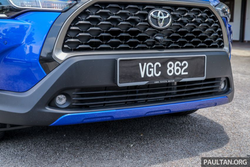 2021 Toyota Corolla Cross launched in Malaysia – two variants, 1.8L with 139 PS and 172 Nm, CVT; fr RM124k Image #1268313