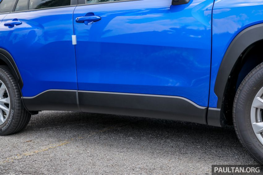 2021 Toyota Corolla Cross launched in Malaysia – two variants, 1.8L with 139 PS and 172 Nm, CVT; fr RM124k Image #1268325