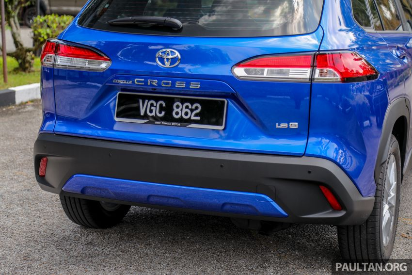 2021 Toyota Corolla Cross launched in Malaysia – two variants, 1.8L with 139 PS and 172 Nm, CVT; fr RM124k Image #1268326