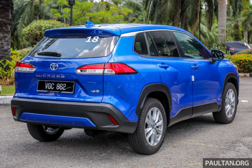 2021 Toyota Corolla Cross launched in Malaysia – two variants, 1.8L with 139 PS and 172 Nm, CVT; fr RM124k Image #1268300
