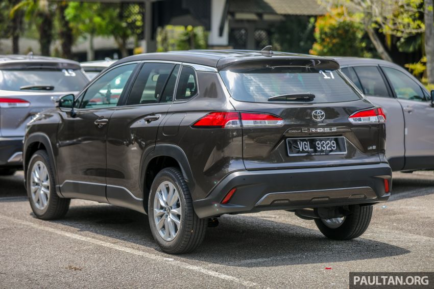 2021 Toyota Corolla Cross launched in Malaysia – two variants, 1.8L with 139 PS and 172 Nm, CVT; fr RM124k Image #1268337