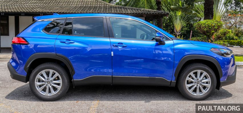 2021 Toyota Corolla Cross launched in Malaysia – two variants, 1.8L with 139 PS and 172 Nm, CVT; fr RM124k Image #1268301