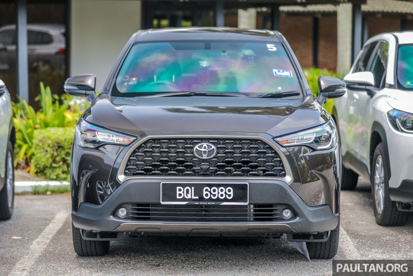 2021 Toyota Corolla Cross launched in Malaysia – two variants, 1.8L with 139 PS and 172 Nm, CVT; fr RM124k Image #1268338