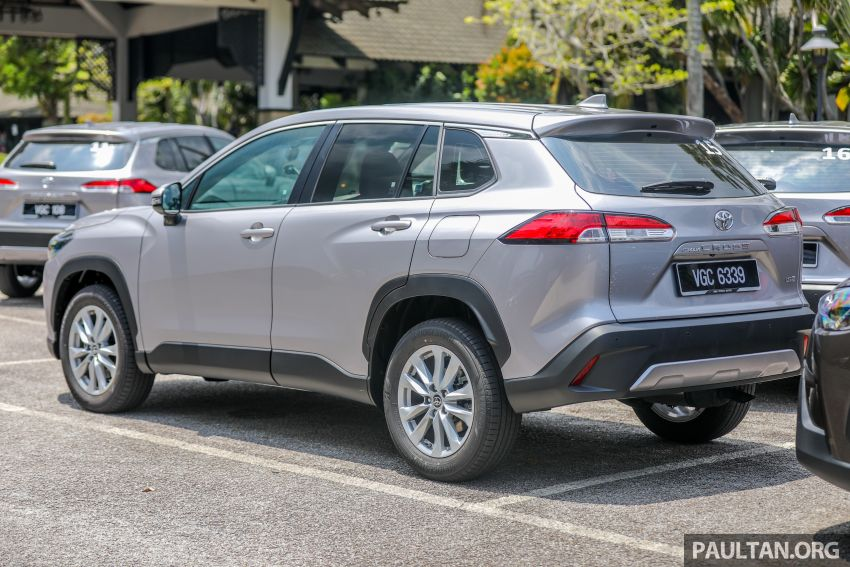 2021 Toyota Corolla Cross launched in Malaysia – two variants, 1.8L with 139 PS and 172 Nm, CVT; fr RM124k Image #1268341