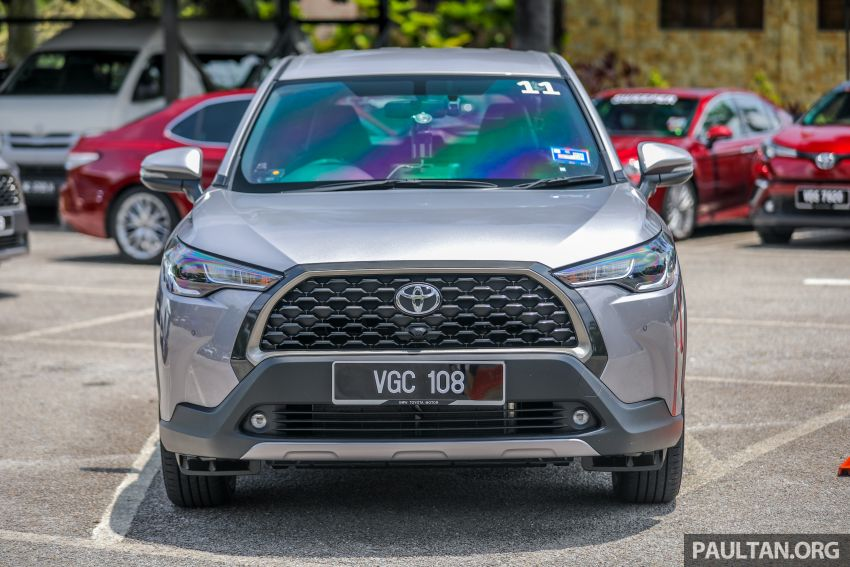 2021 Toyota Corolla Cross launched in Malaysia – two variants, 1.8L with 139 PS and 172 Nm, CVT; fr RM124k Image #1268342