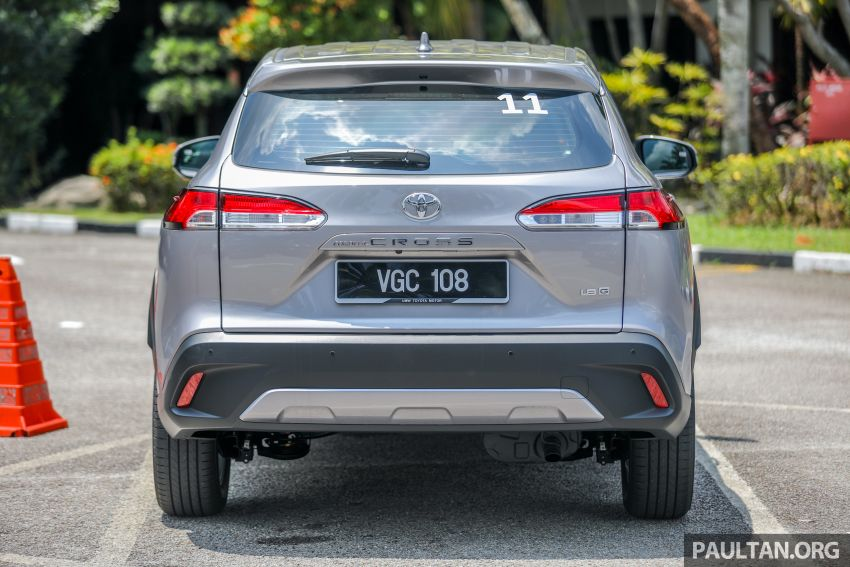 2021 Toyota Corolla Cross launched in Malaysia – two variants, 1.8L with 139 PS and 172 Nm, CVT; fr RM124k Image #1268343