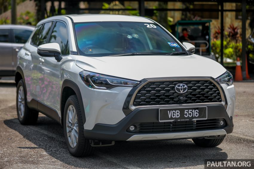 2021 Toyota Corolla Cross launched in Malaysia – two variants, 1.8L with 139 PS and 172 Nm, CVT; fr RM124k Image #1268344