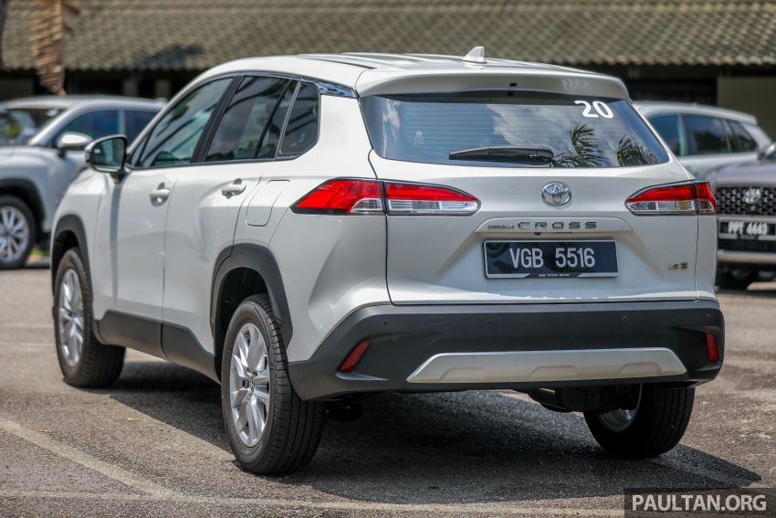 2021 Toyota Corolla Cross launched in Malaysia – two variants, 1.8L with 139 PS and 172 Nm, CVT; fr RM124k Image #1268345