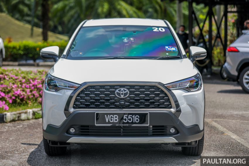 2021 Toyota Corolla Cross launched in Malaysia – two variants, 1.8L with 139 PS and 172 Nm, CVT; fr RM124k Image #1268346