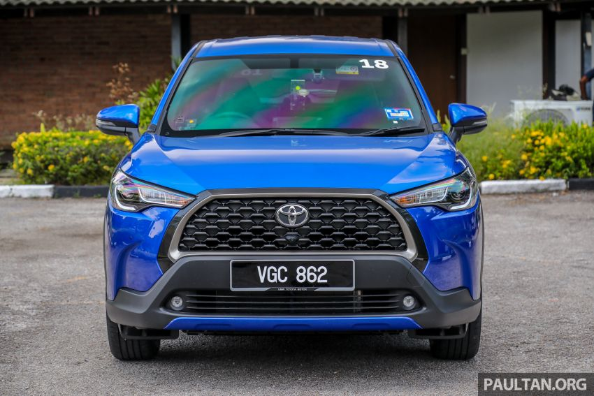 2021 Toyota Corolla Cross launched in Malaysia – two variants, 1.8L with 139 PS and 172 Nm, CVT; fr RM124k Image #1268302
