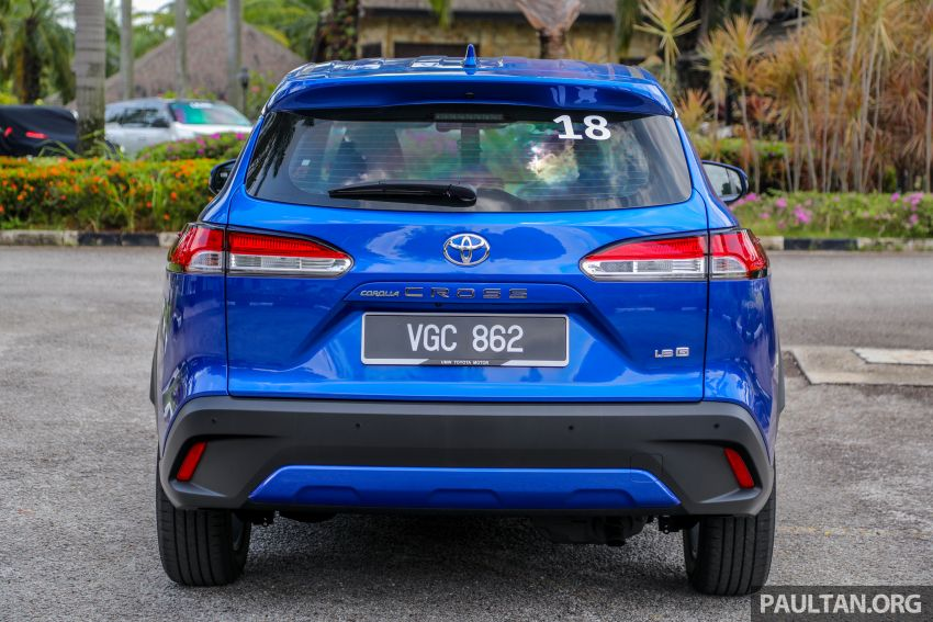 2021 Toyota Corolla Cross launched in Malaysia – two variants, 1.8L with 139 PS and 172 Nm, CVT; fr RM124k Image #1268303