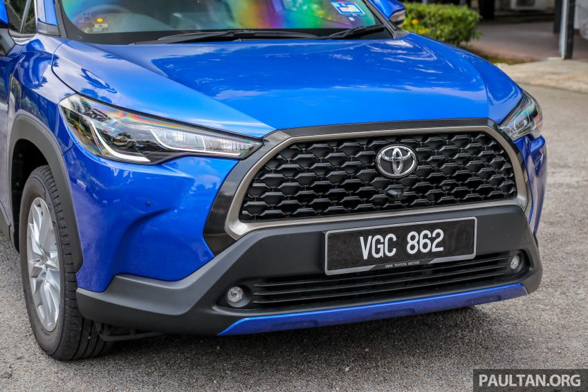 2021 Toyota Corolla Cross launched in Malaysia – two variants, 1.8L with 139 PS and 172 Nm, CVT; fr RM124k Image #1268304