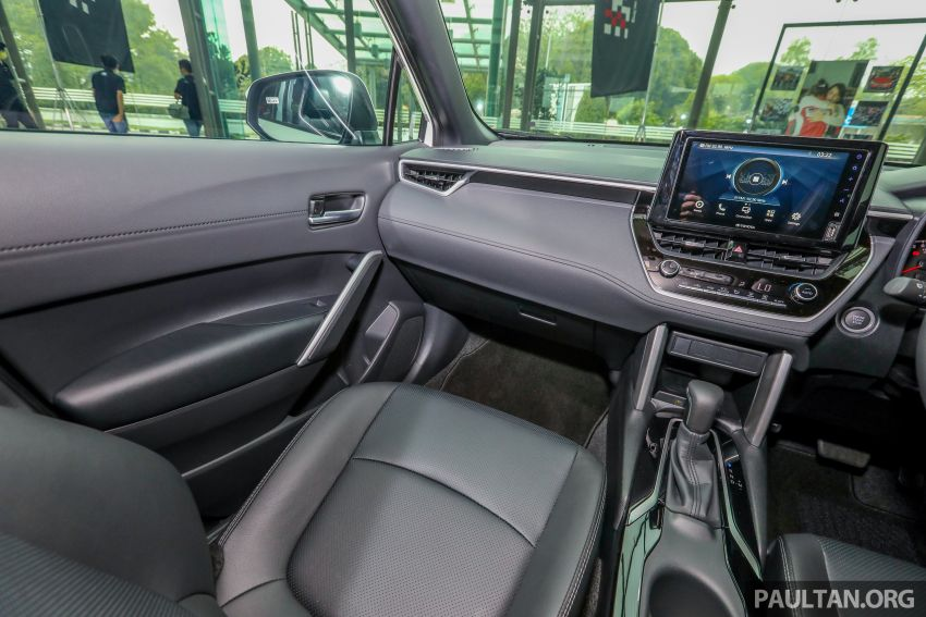 2021 Toyota Corolla Cross launched in Malaysia – two variants, 1.8L with 139 PS and 172 Nm, CVT; fr RM124k Image #1268372