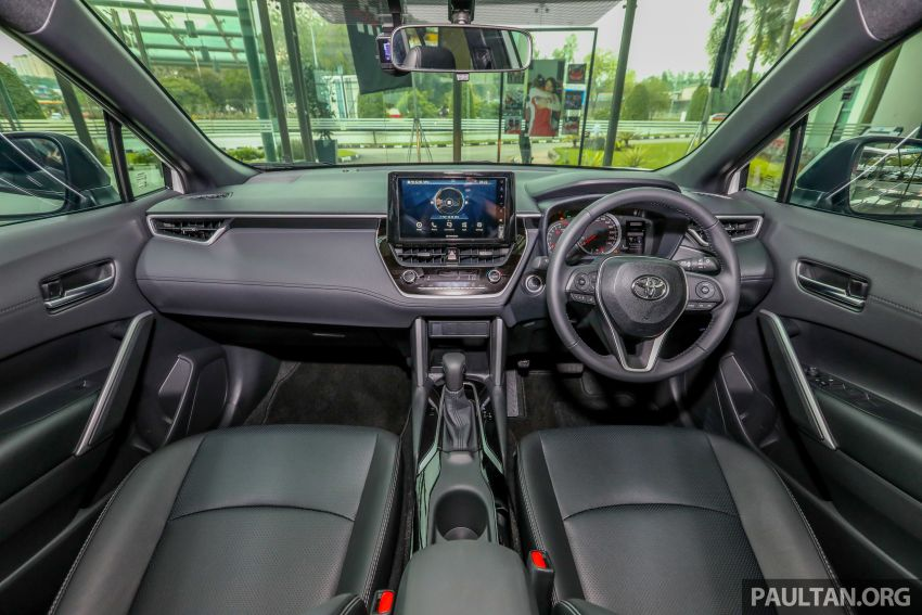 2021 Toyota Corolla Cross launched in Malaysia – two variants, 1.8L with 139 PS and 172 Nm, CVT; fr RM124k Image #1268350
