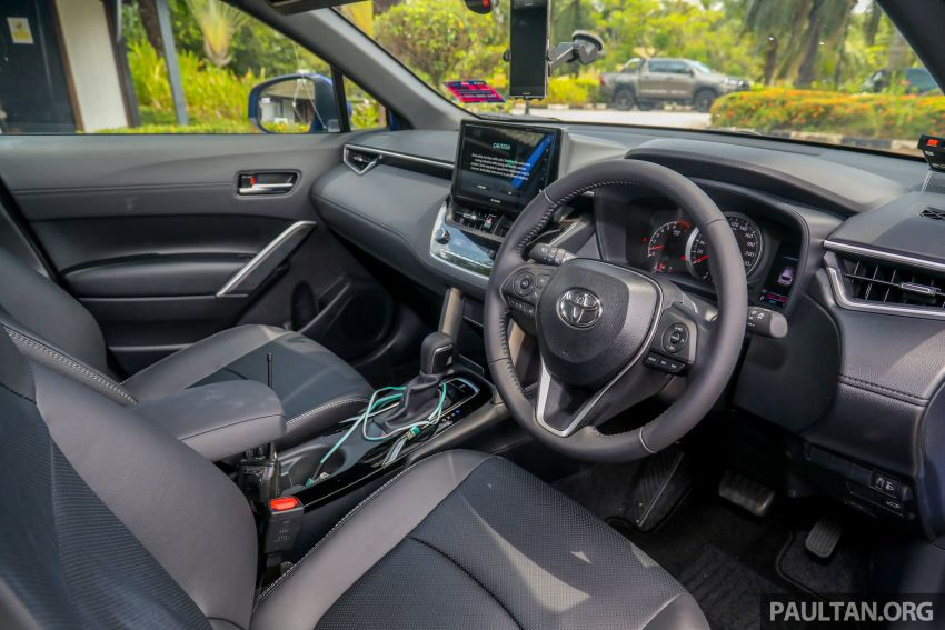 2021 Toyota Corolla Cross launched in Malaysia – two variants, 1.8L with 139 PS and 172 Nm, CVT; fr RM124k Image #1268351