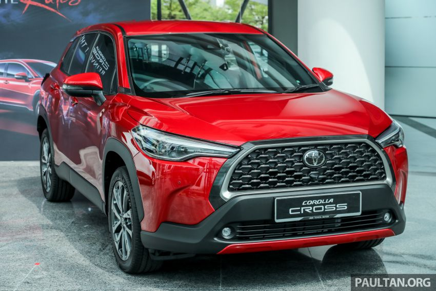 2021 Toyota Corolla Cross launched in Malaysia – two variants, 1.8L with 139 PS and 172 Nm, CVT; fr RM124k Image #1268421