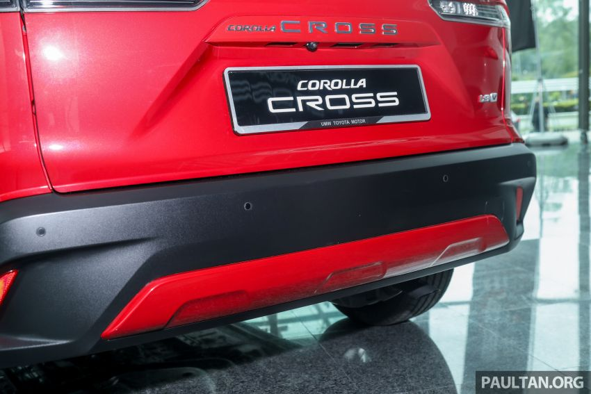 2021 Toyota Corolla Cross launched in Malaysia – two variants, 1.8L with 139 PS and 172 Nm, CVT; fr RM124k Image #1268459