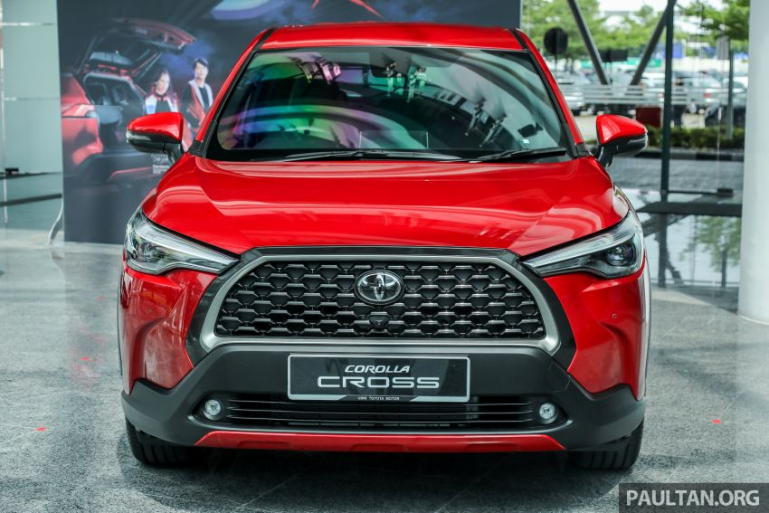 2021 Toyota Corolla Cross launched in Malaysia – two variants, 1.8L with 139 PS and 172 Nm, CVT; fr RM124k Image #1268426