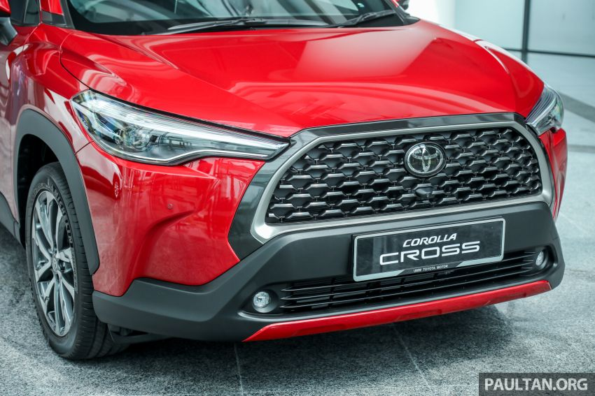 2021 Toyota Corolla Cross launched in Malaysia – two variants, 1.8L with 139 PS and 172 Nm, CVT; fr RM124k Image #1268428