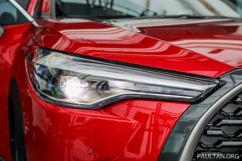 2021 Toyota Corolla Cross launched in Malaysia – two variants, 1.8L with 139 PS and 172 Nm, CVT; fr RM124k Image #1268431