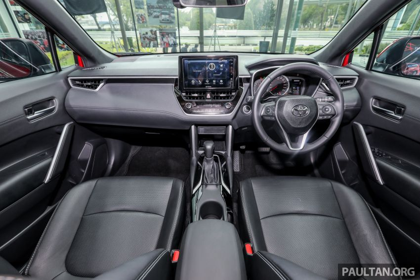 2021 Toyota Corolla Cross launched in Malaysia – two variants, 1.8L with 139 PS and 172 Nm, CVT; fr RM124k Image #1268470