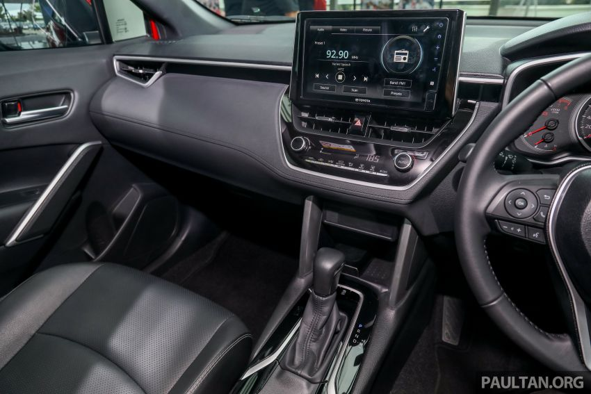 2021 Toyota Corolla Cross launched in Malaysia – two variants, 1.8L with 139 PS and 172 Nm, CVT; fr RM124k Image #1268512