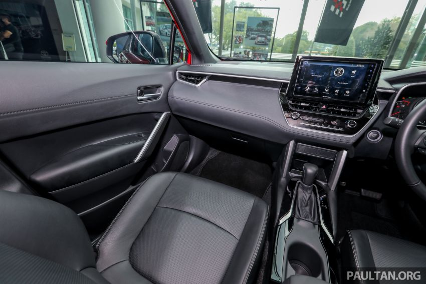 2021 Toyota Corolla Cross launched in Malaysia – two variants, 1.8L with 139 PS and 172 Nm, CVT; fr RM124k Image #1268650