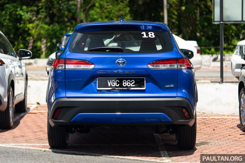 2021 Toyota Corolla Cross launched in Malaysia – two variants, 1.8L with 139 PS and 172 Nm, CVT; fr RM124k Image #1268231