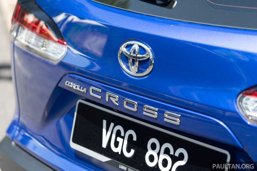 2021 Toyota Corolla Cross launched in Malaysia – two variants, 1.8L with 139 PS and 172 Nm, CVT; fr RM124k Image #1268243