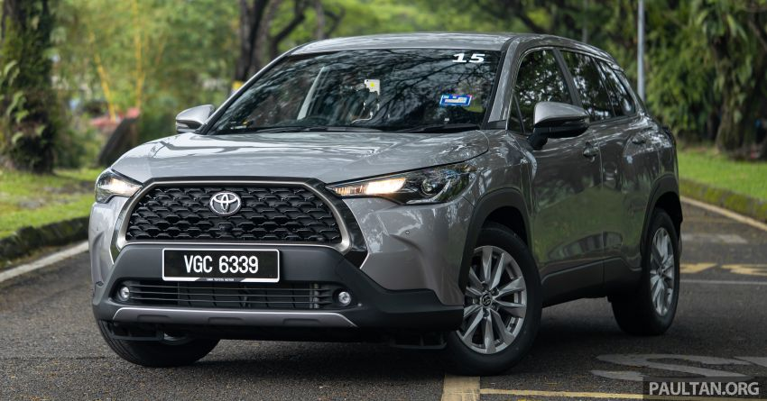 2021 Toyota Corolla Cross launched in Malaysia – two variants, 1.8L with 139 PS and 172 Nm, CVT; fr RM124k Image #1268250