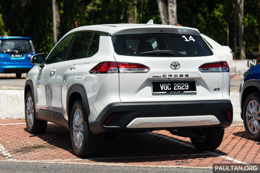 2021 Toyota Corolla Cross launched in Malaysia – two variants, 1.8L with 139 PS and 172 Nm, CVT; fr RM124k Image #1268206