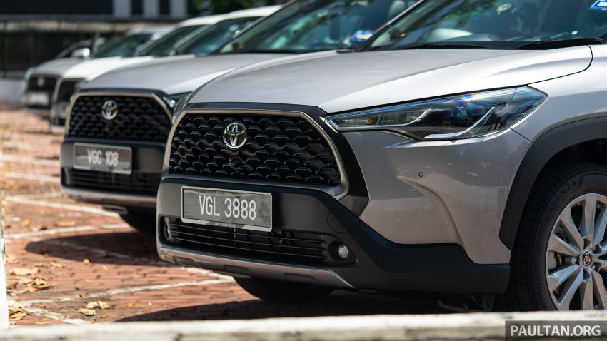 2021 Toyota Corolla Cross launched in Malaysia – two variants, 1.8L with 139 PS and 172 Nm, CVT; fr RM124k Image #1268210