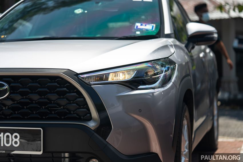 2021 Toyota Corolla Cross launched in Malaysia – two variants, 1.8L with 139 PS and 172 Nm, CVT; fr RM124k Image #1268217