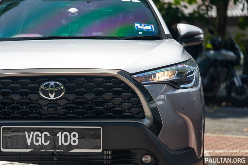 2021 Toyota Corolla Cross launched in Malaysia – two variants, 1.8L with 139 PS and 172 Nm, CVT; fr RM124k Image #1268220