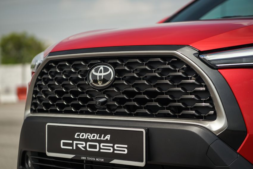 2021 Toyota Corolla Cross launched in Malaysia – two variants, 1.8L with 139 PS and 172 Nm, CVT; fr RM124k Image #1269403