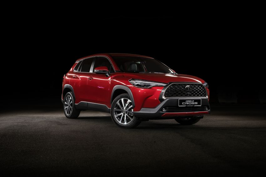 2021 Toyota Corolla Cross launched in Malaysia – two variants, 1.8L with 139 PS and 172 Nm, CVT; fr RM124k Image #1269431