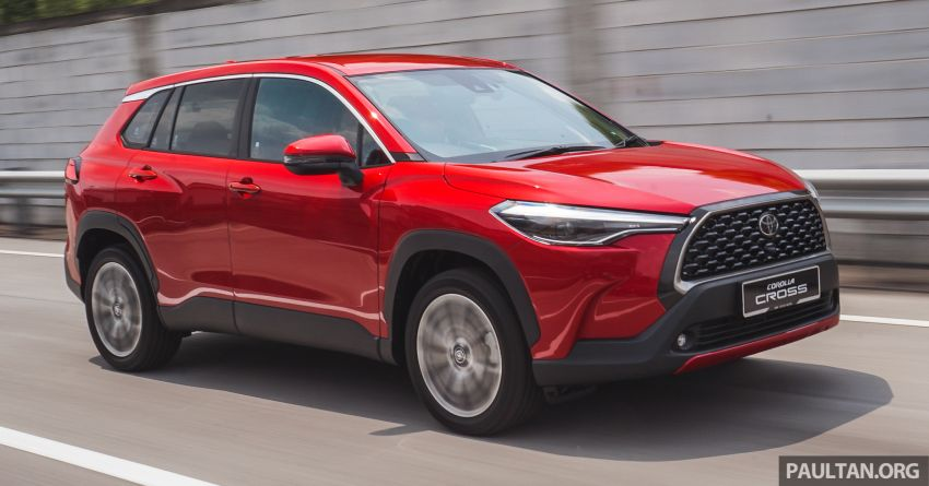 2021 Toyota Corolla Cross launched in Malaysia – two variants, 1.8L with 139 PS and 172 Nm, CVT; fr RM124k Image #1269341