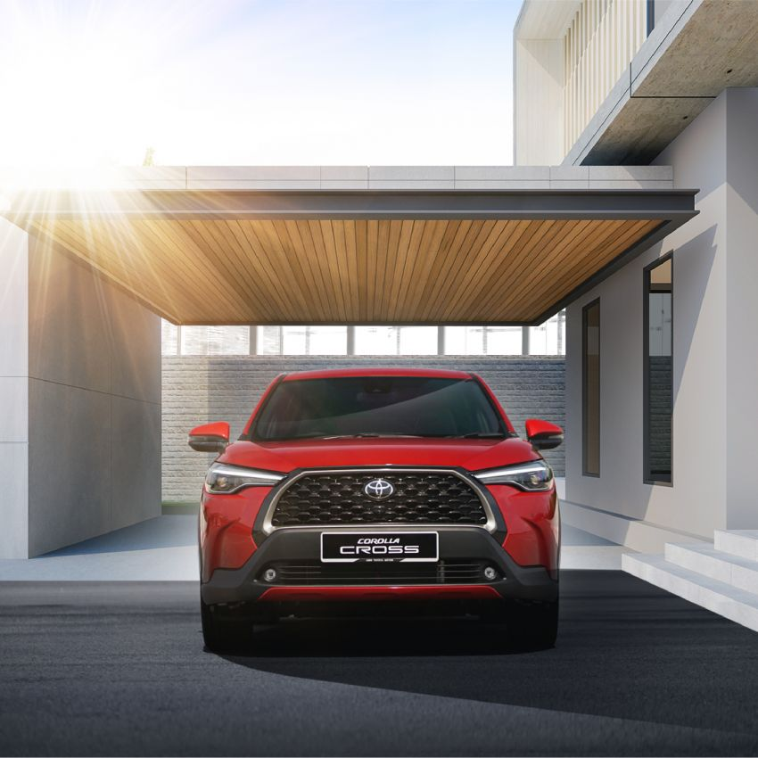 2021 Toyota Corolla Cross launched in Malaysia – two variants, 1.8L with 139 PS and 172 Nm, CVT; fr RM124k Image #1269442