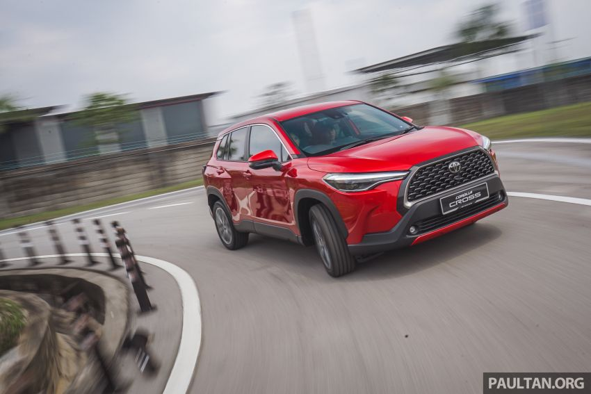 2021 Toyota Corolla Cross launched in Malaysia – two variants, 1.8L with 139 PS and 172 Nm, CVT; fr RM124k Image #1269348